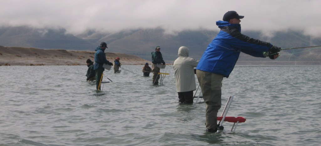 techniques pyramid lake fly fishing
