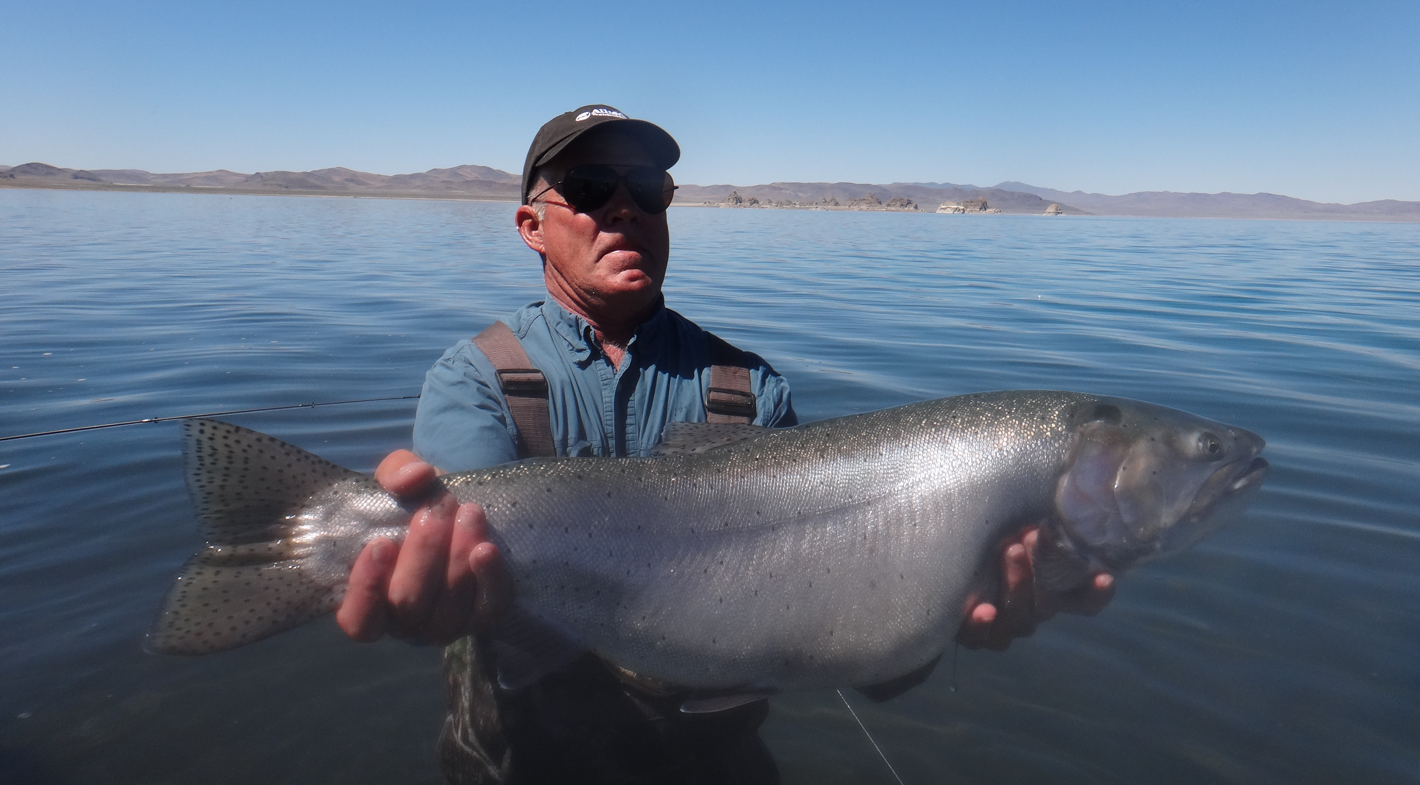 fishing report pyramid lake fly fishing