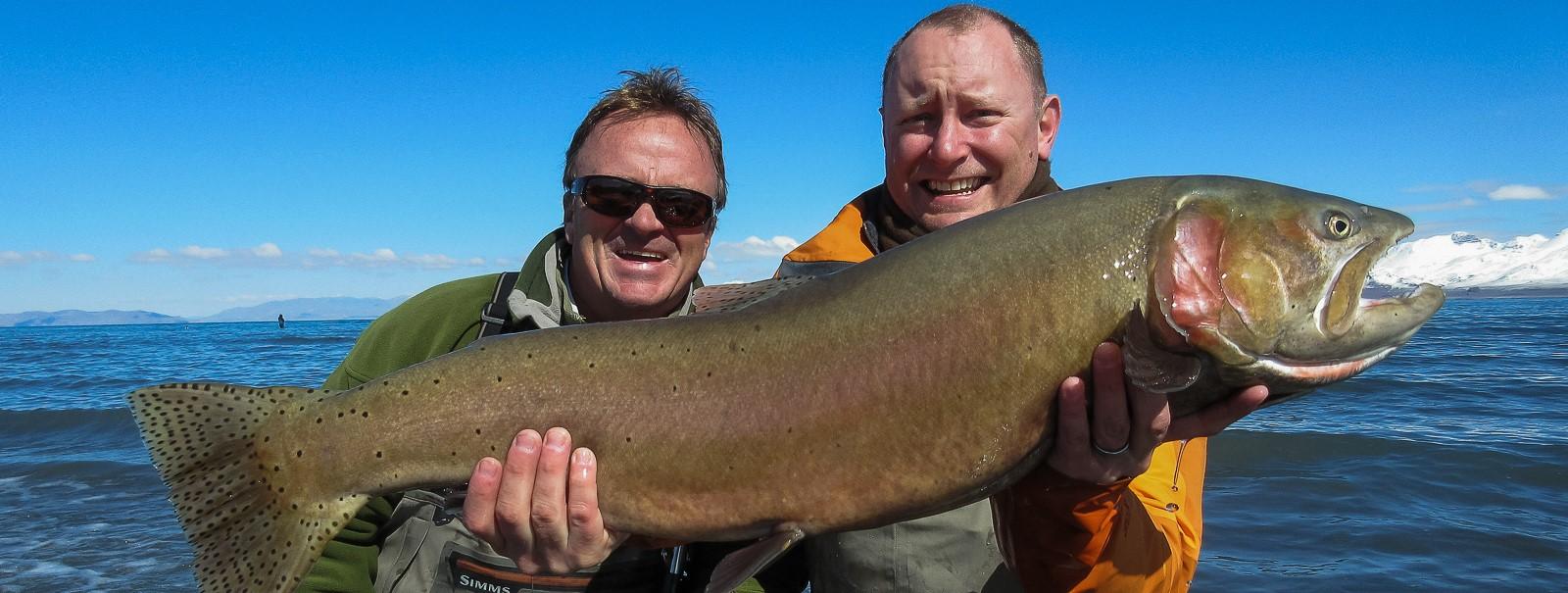 Fishing report pyramid lake fly fishing for Caples lake fishing report